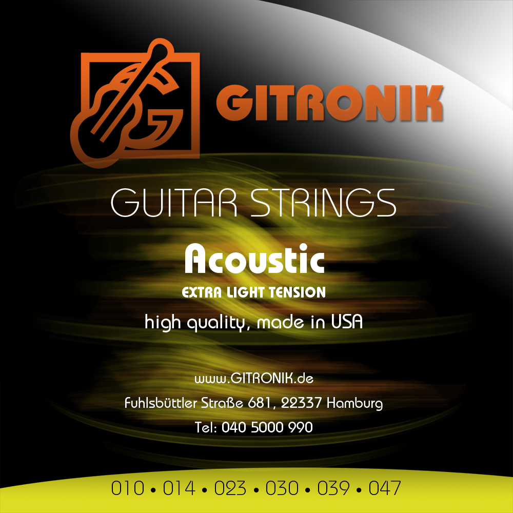 Saiten GK USA Acoustic strings