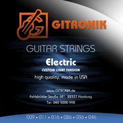 Saiten GK electric strings USA 3ér set