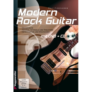 Modern Rock Guitar Lehrbuch