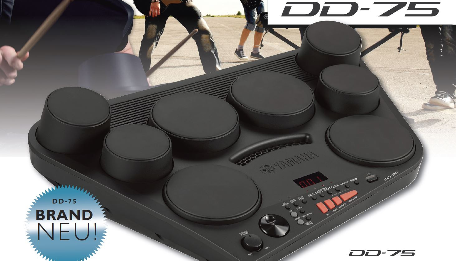 Yamaha E-Drum DD-75 Set