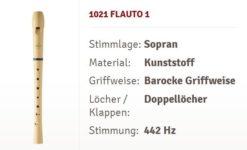 Moeck Flauto 1 1021 Flöte