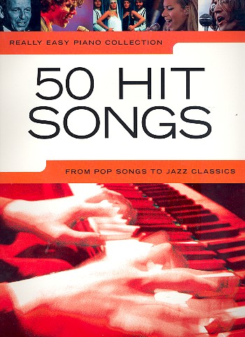 50 Hit Songs : for really easy piano Songbook