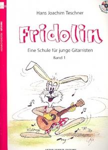 Fridolin Band 1 (+CD) : Eine Schule für junge Gitarristen