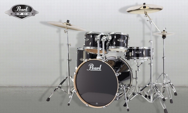 Pearl Export lacquer DrumSet