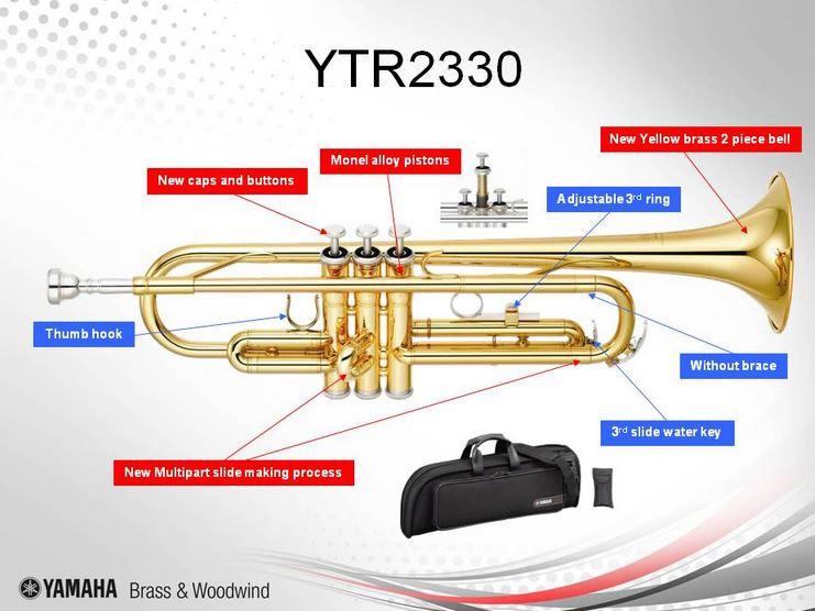 Yamaha B Trompete YTR-2330