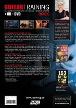 Guitar Training Rock (mit CD und DVD)