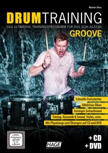 Drum Training Groove (mit CD und DVD)