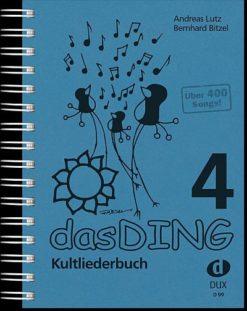 Das Ding 4 Kultliederbuch