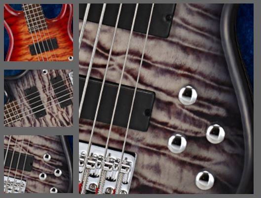 Cort Action V-DLX 5-saiter E-Bass aktiv