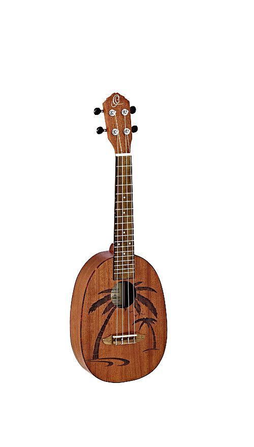Ortega Konzert-Ukulele  Ananas