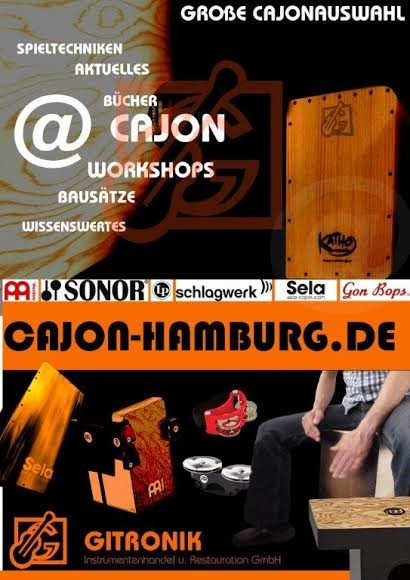 Cajon Basics I Workshop 24.Juni 2017