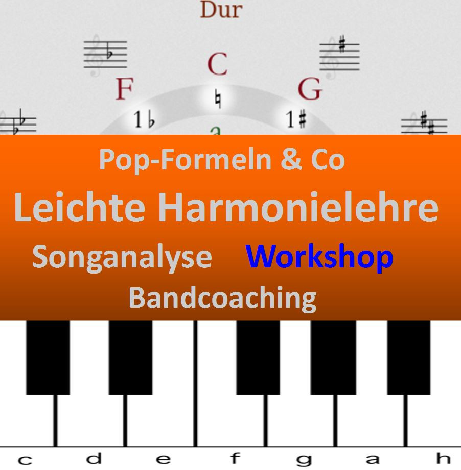 Musikworkshop POP-FORMELN &Co. 24. Juni 2017 einfache Harmonielehre